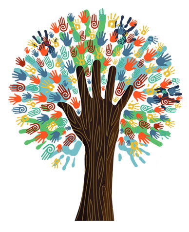 Carman-Ainsworth Education Foundation tree logo image