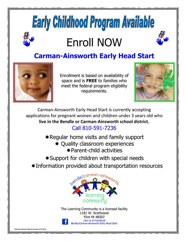 Early Head Start Flyer