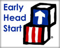 Clipart image of Ealry Head Start building blocks